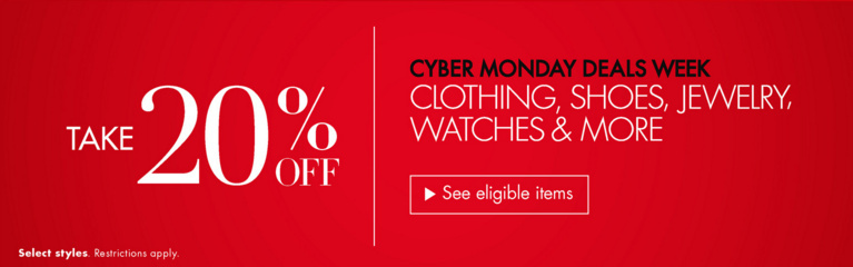 Best Cyber Monday Deals Week Fashion, jewelry, Shoes