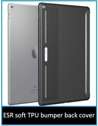 ESR soft TPU bumper back cover for iPad pro