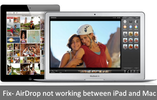 how to fix AirDrop not working between iPad and Mac