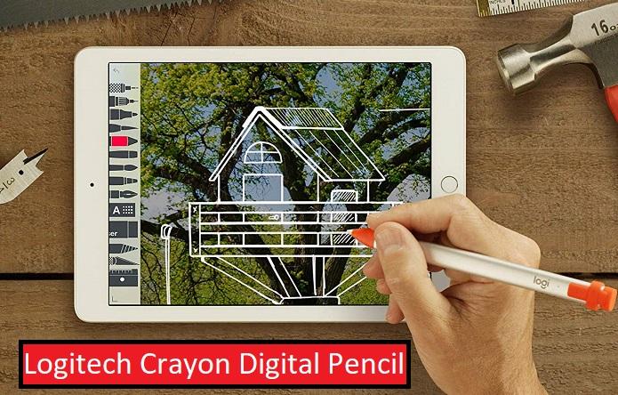 Logitech Crayon Digital Pencil is Apple Pencil alternative