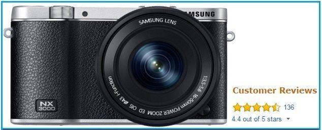 Samsung NX 3000 wireless Digital camera 2015