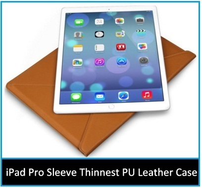 iPad pro leather cases covers 12,9 inch 2015-2016
