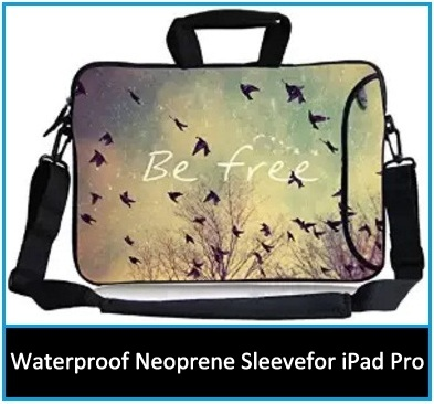 iPad Pro with carrying handle