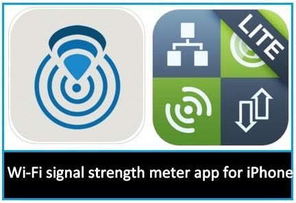 Best wifi signal strength meter app for iPhone, iPad