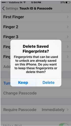 Turn off passcode in iPhone and iPad