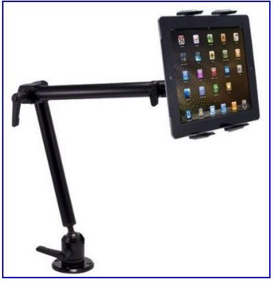 iPad wall stand for iPad pro big size
