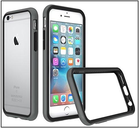 3 RhinoShield iPhone bumper case