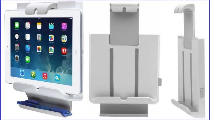 Adjustable iPad mount holder