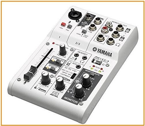 5 Yamaha Audio interface for iPad