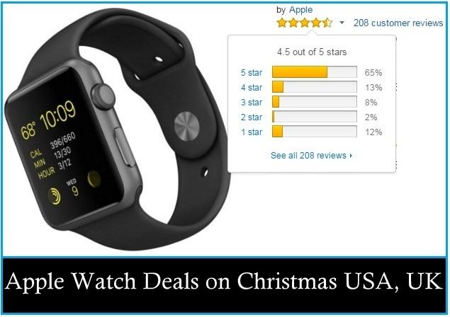 Apple Watch Deals on Christmas USA, UK, Canada