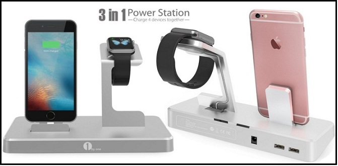 Best Apple Watch and iPhone charging dock stand 2015 review