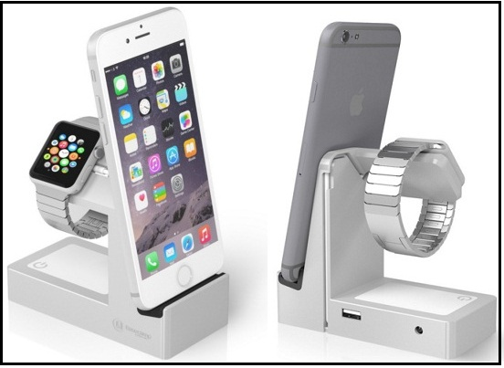 Best Apple Watch and iPhone dock stand 2015-2016