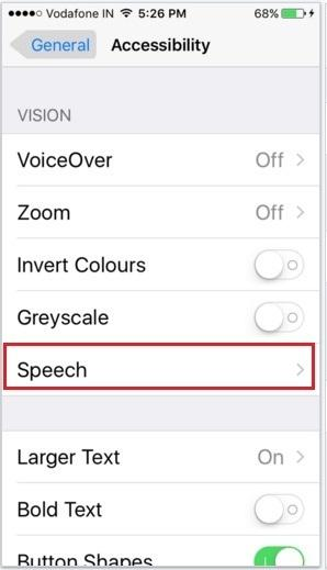 How to Turn off Voice auto text on iOS 9