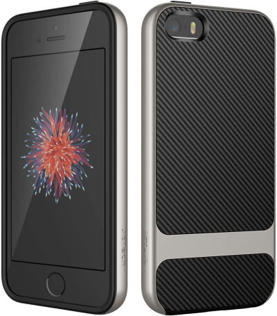 JETech Protective Case for iPhone SE 5S 5