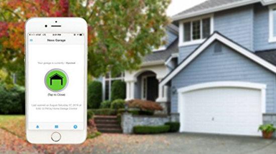 Nexx garage door opener with iOS and Android