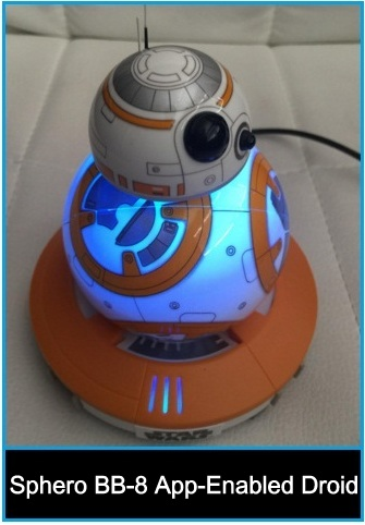 top iOS controlled star wars BB-8 App-Enabled Droid