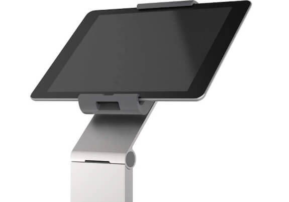 4).Durable Tablet Floor Stand For Presentation and Gym