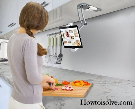 Best iPad Pro kitchen stand for cooking time 2016