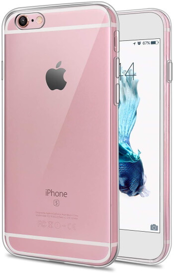 Crystal Transparent iPhone 6 Bumper Clear Case Shock-Absorbing
