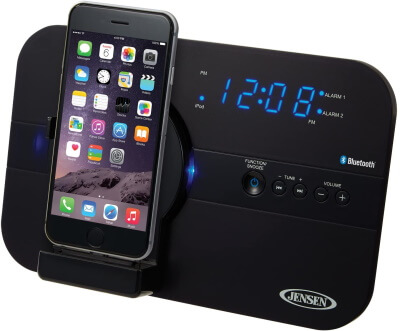 Jensen iPod Touch Lightning Dock with Charging Station