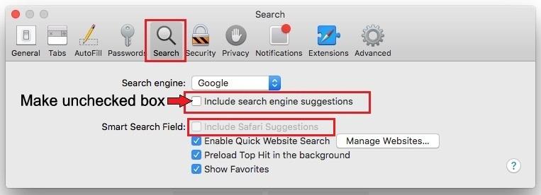 Fix Safari crashing on Mac OS X Yosemite 10.10
