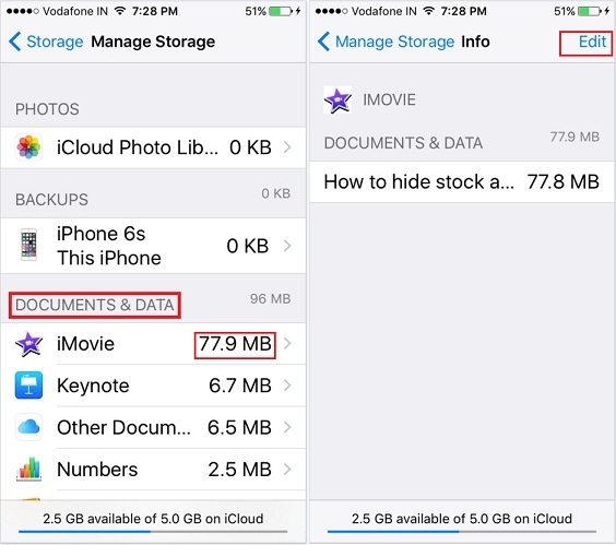 How to free up space on iPhone 6S Plus