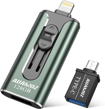 AUAMOZ Apple MFI Certified iPhone Flash Drive