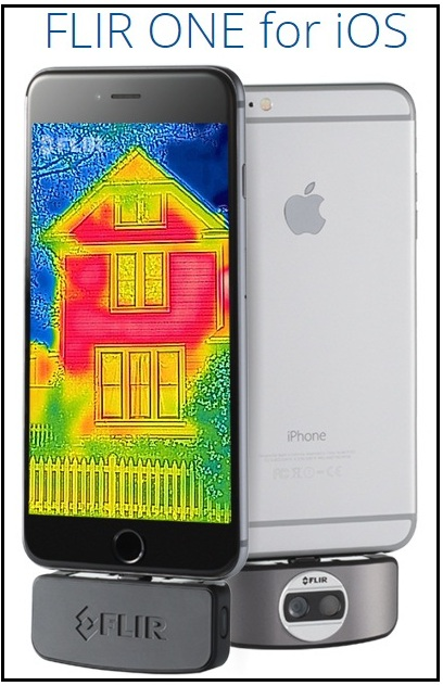 Thermal imagining camera for iPhone 6