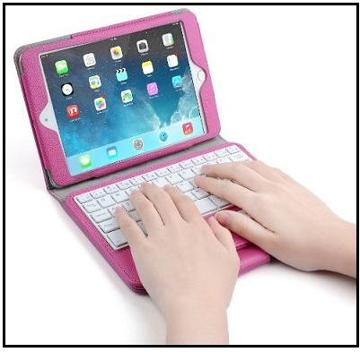 Bluetooth keyboard cover for iPad mini