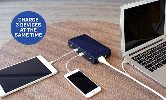 Halo Bolt Portable Power Charger For MacBook Pro-Air