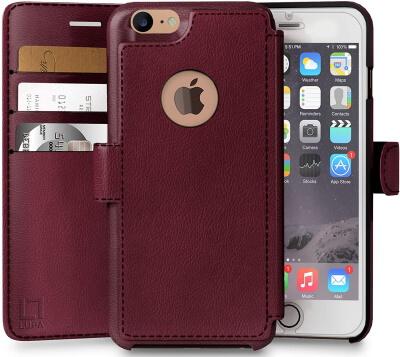 LUPA Premium Wallet Folio for iPhone 6