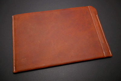 Leather Handmade Sleeve Pouch Case for iPad