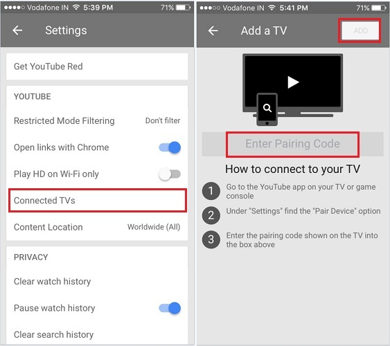 how to control YouTube from iPhone, iPad to smart tv sony, lg, android tv, apple tv