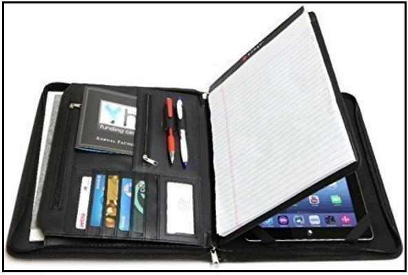 12.9 inch iPad Pro leather portfolio case 2016