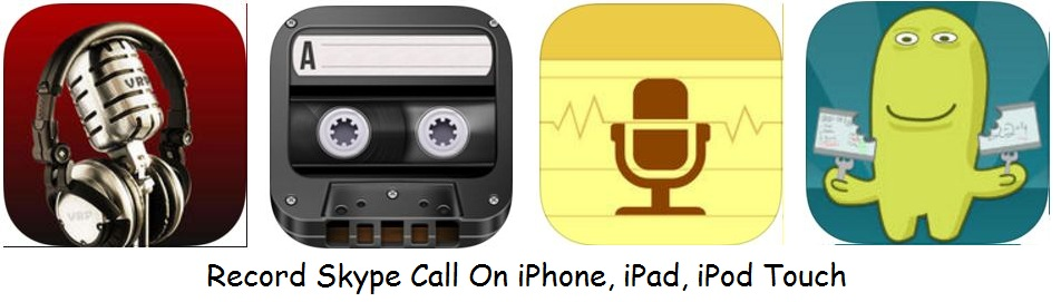 Record Skype call on iPhone, iPad and iPod Touch