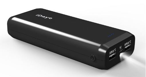 High storage capacity charging battery