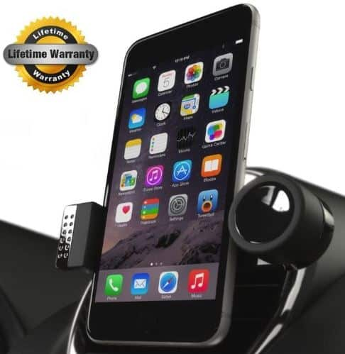 Air wind iPhone SE car mount