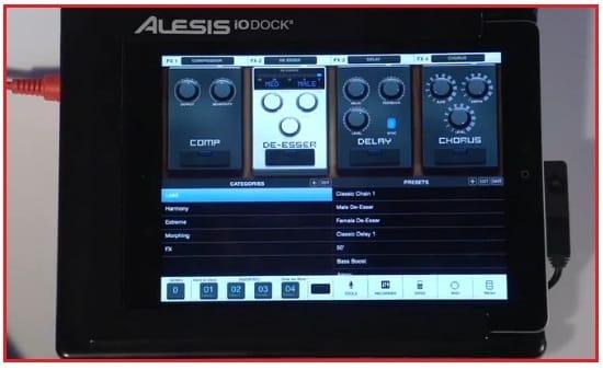 digital audio interface dock for iPad