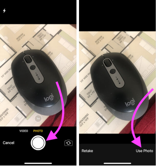 Capture Photo and Use for Upload on Google image