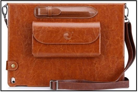 Good FYY iPad Pro 9.7'' luxurious leather case 2016