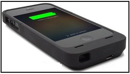 Lenmer Slim durable rubber battery case for iPhone SE