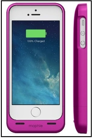 Slim extra battery pack for iPhone SE 2016