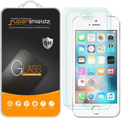 Supershieldz Screen Protector for iPhone SE