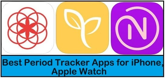 Best Period Tracker Apps for iPhone, Apple Watch