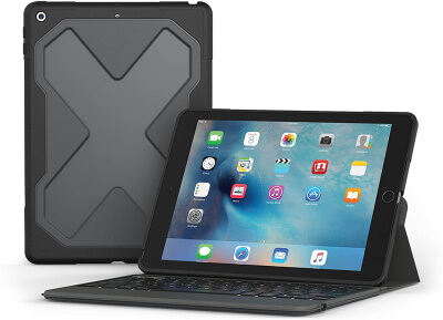 ZAGG Rugged Armor Bluetooth Keyboard Case for iPad Pro