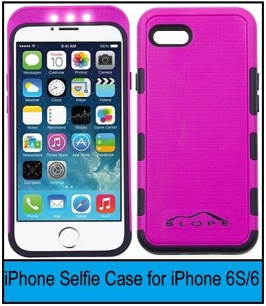 Best Selfie light Case for iPhone 6s