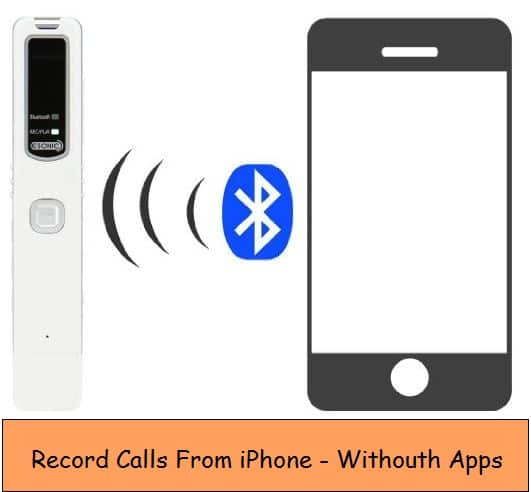 Record call from iPhone to External Device