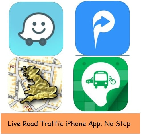 Free live traffic apps for iPhone, iPad and iPod Touch
