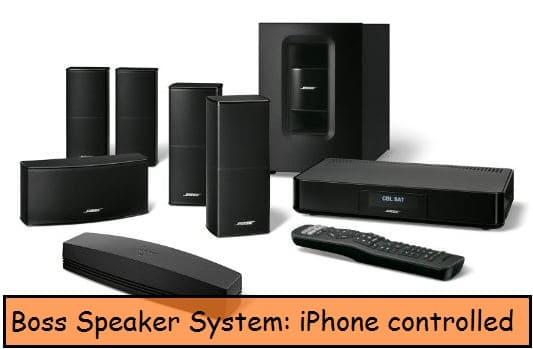 Bose high definition sound speaker