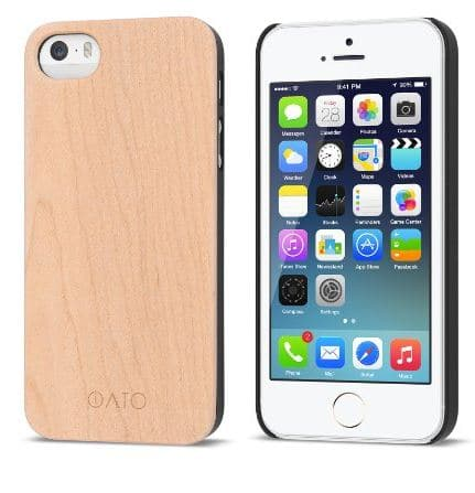 Professional Clear iPhone SE Wooden case